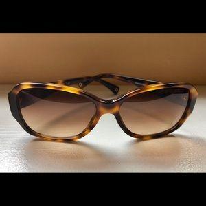 Coach Reese tortoise sunglasses